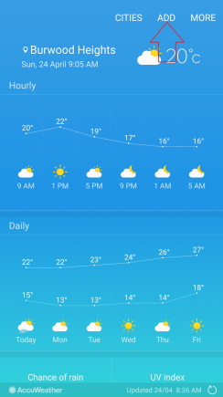 How To Use Weather Widget To Check Multiple Cities Weather On