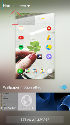 How To Set Multiple Lock Screen Wallpapers On Samsung Galaxy S7edge